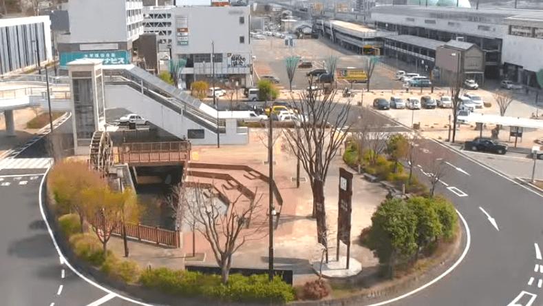 上田駅ロータリー