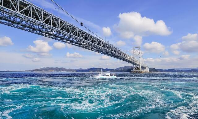 徳島県鳴門海峡
