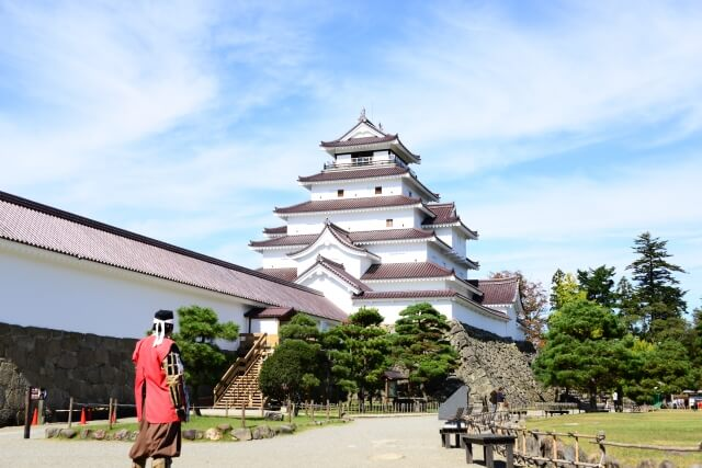 福島県会津若松城