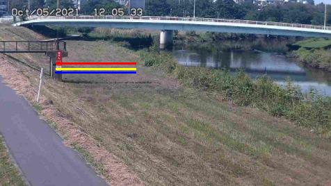 綾瀬川一の橋