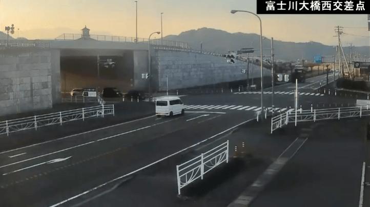 富士川大橋西