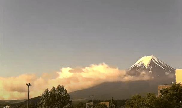 富士山上吉田