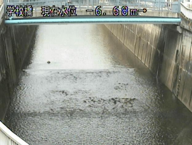 石神井川学校橋