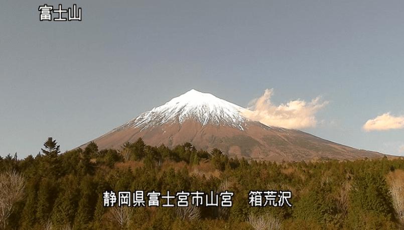 箱荒沢富士山