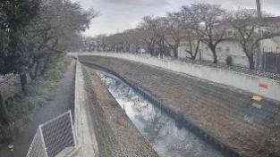 砂川堀花影橋