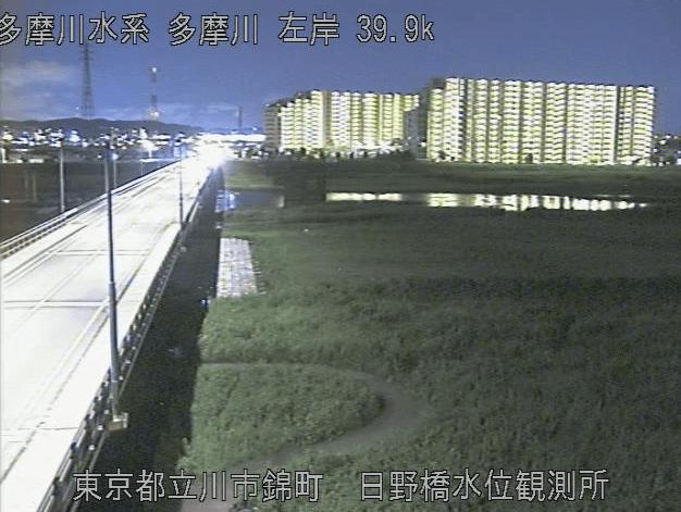 多摩川日野橋