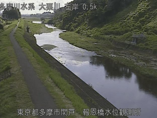 大栗川報恩橋
