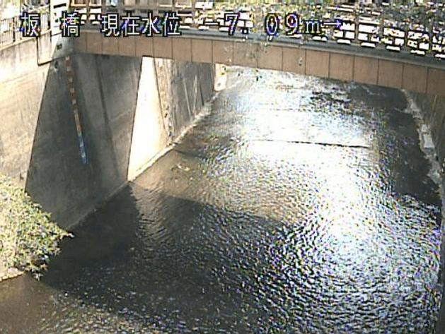石神井川板橋