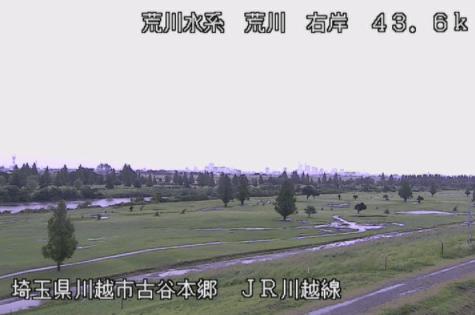 荒川JR川越線鉄橋