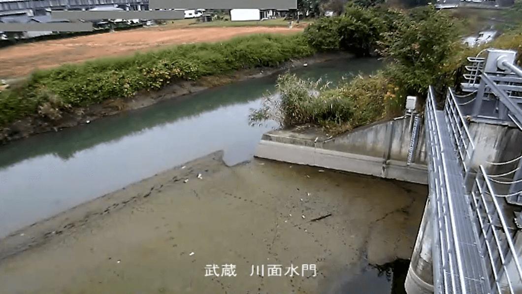 川面水門元荒川側