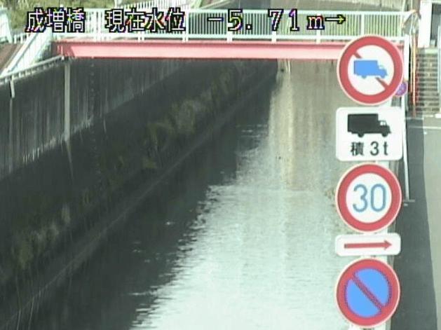 白子川成増橋