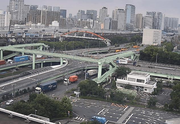 大井埠頭北部陸橋