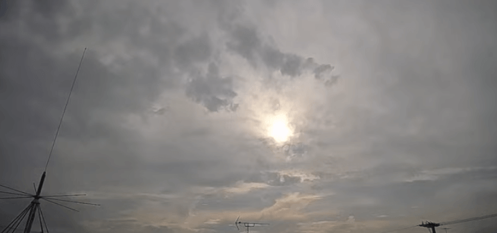 大田区上空