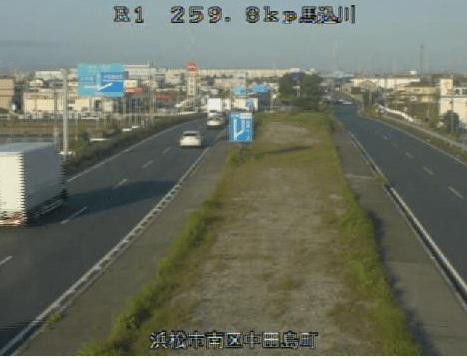国道1号中田島