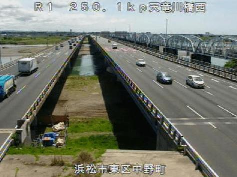 国道1号天竜川橋西