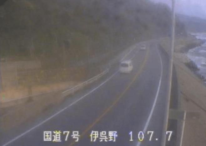 国道7号伊呉野