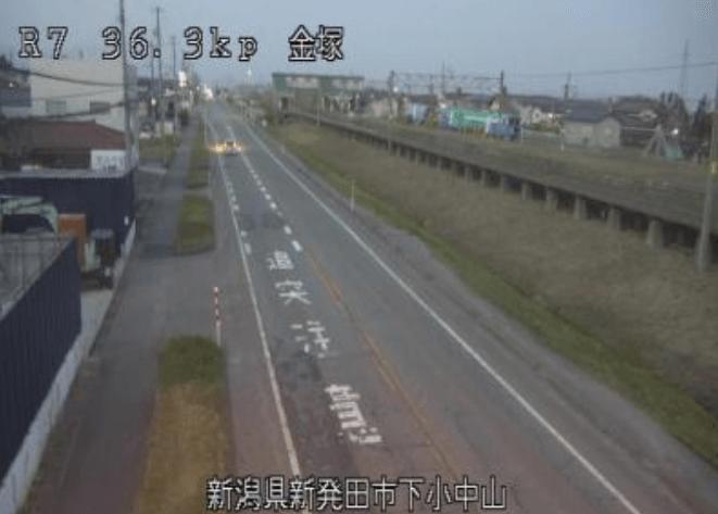 国道7号金塚