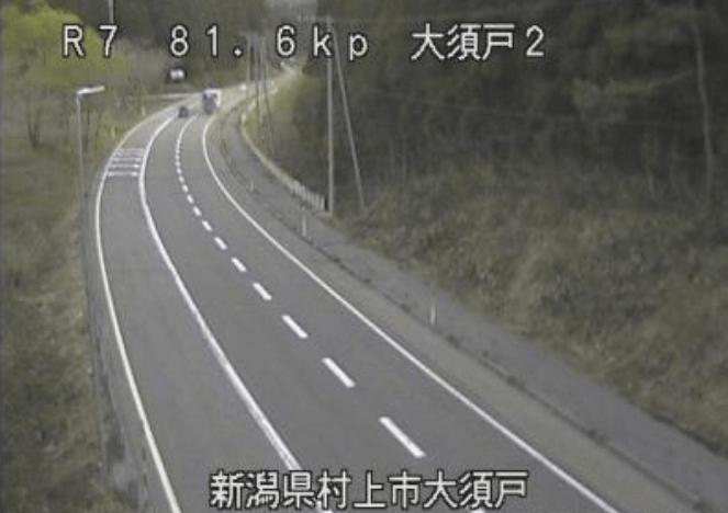 国道7号大須戸