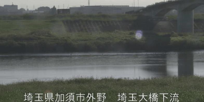 埼玉大橋下流