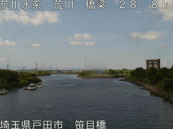 荒川笹目橋