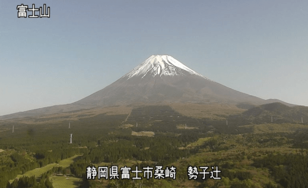 勢子辻富士山