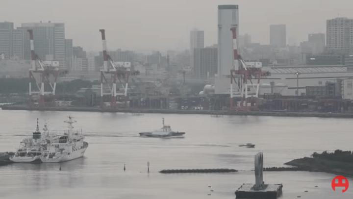 東京湾品川埠頭