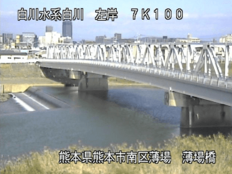 白川薄場橋